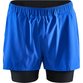 Craft ADV Essence Pantaloncini Stretch 2in1 Uomo, blu